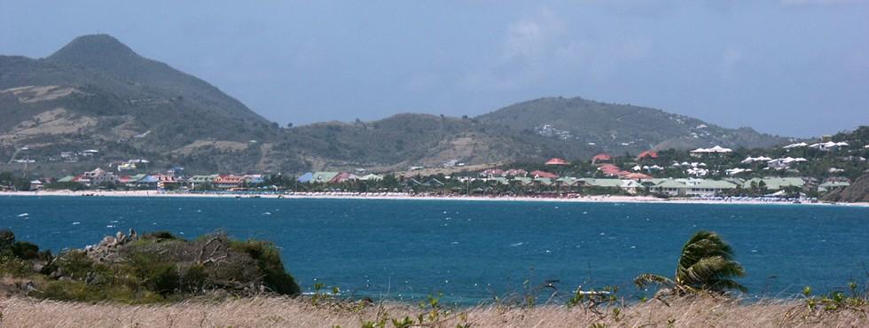 Vue sur Orient Bay