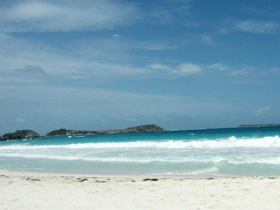 La plage d