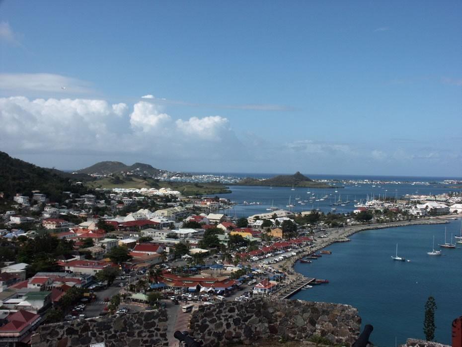 Panorama de Marigot