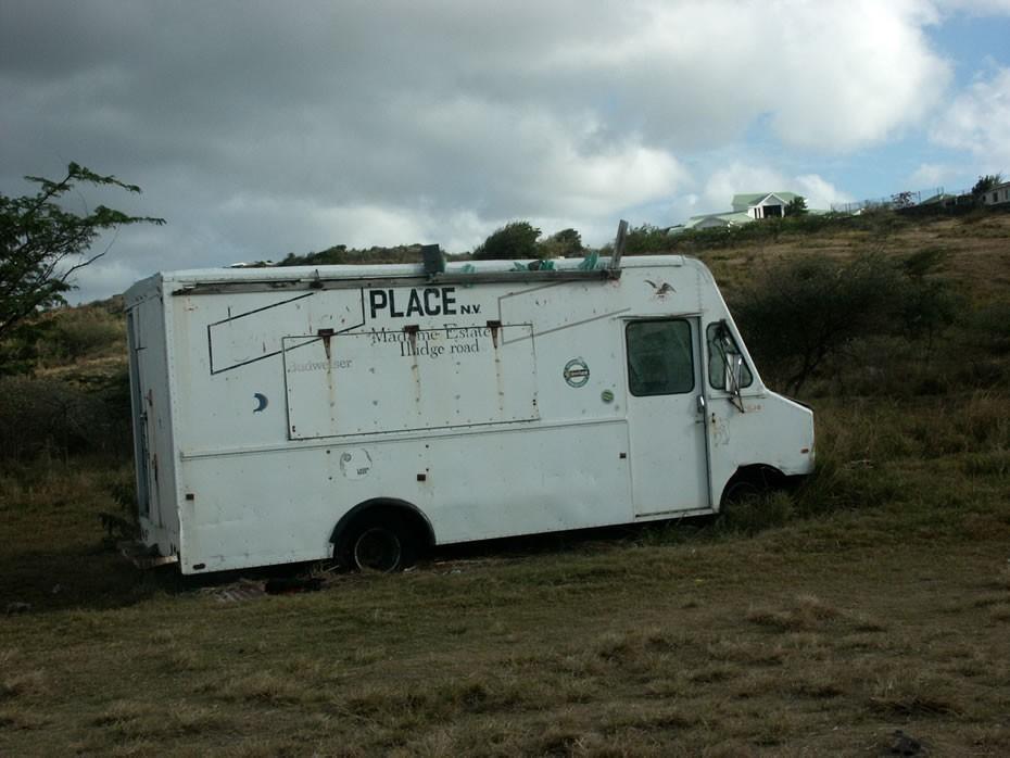 Camion abandonné ?