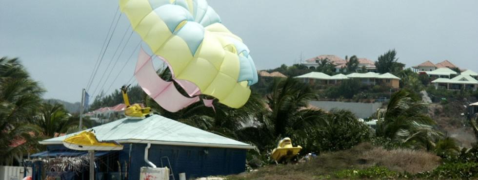 Insolite parachute